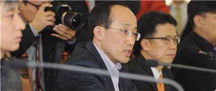 추경호 기획재정부 1차관이 '긴급 경제금융상황점검회의'를 주재하고 있다.