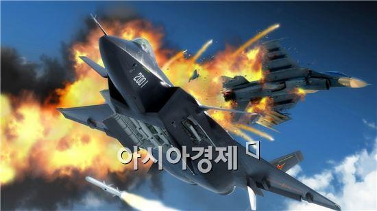 중국의 '젠(殲)-20(J-20)'은 미국의 'F-22'와 대적하기 위해 개발한  전투기다. 이르면 2018년께 실전 배치될 전망이다.