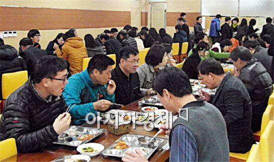 함평군 공직자, 닭·오리 소비 촉진 앞장