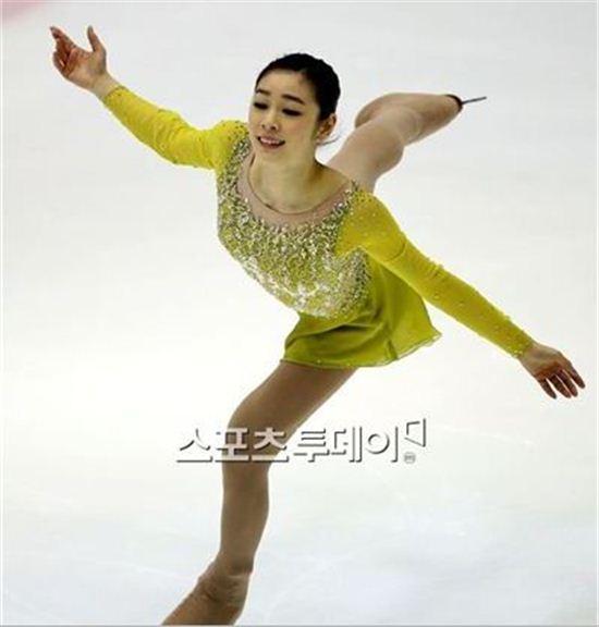 일본 언론이 김연아의 컨디션에 대해 관심을 보이고 있다.