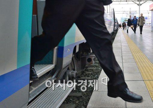 [포토]고단하지만 가벼운 발걸음