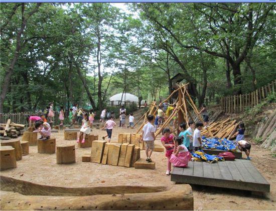 청룡산 유아숲체험장
