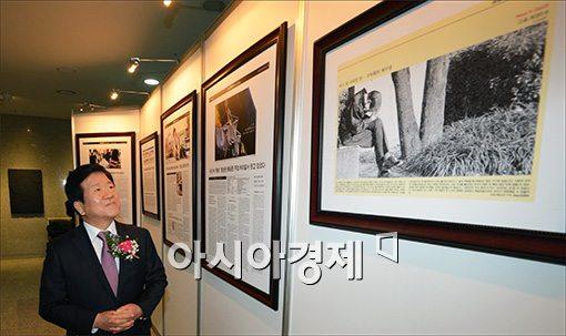 [포토]박병석 부의장을 감동시킨 '그 섬, 파고다'