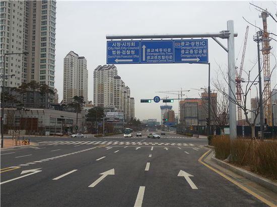 광교 '호수공원~에듀타운' 759m 완전개통