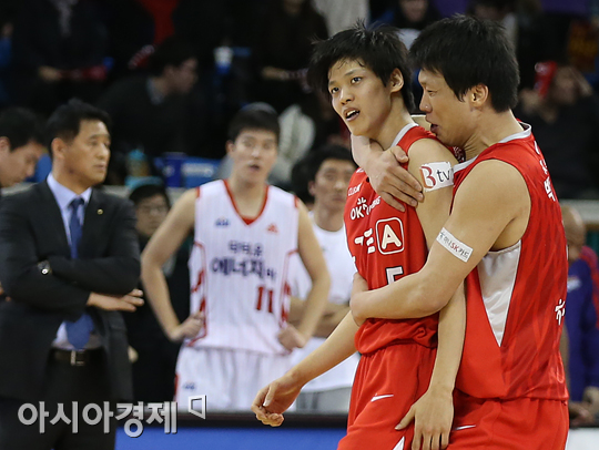 김선형(왼쪽)과 박상호[사진=아시아경제 DB]