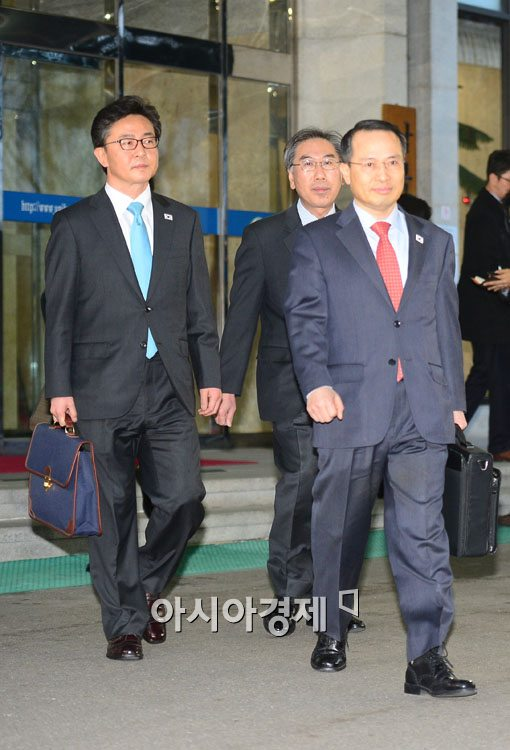 [포토]판문점으로 향하는 김규현 청와대 국가안보실 1차장