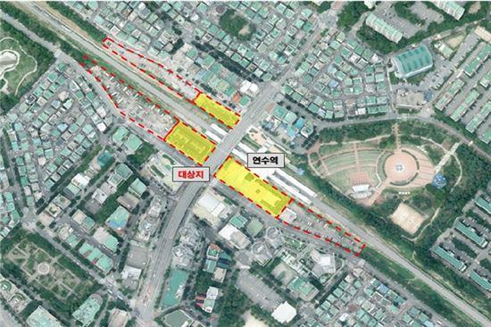 인천 행복주택 건설 대상지 위성사진