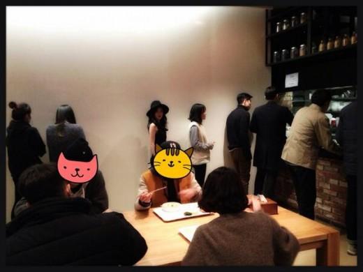 ▲산다라박 YG 식당.(출처: 산다라박 트위터)