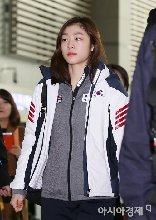 [포토] 비장한 표정의 김연아
