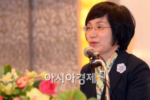 [포토]권선주 기업은행장 기자간담회 개최