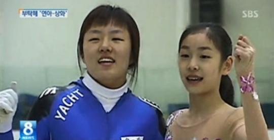▲이상화 김연아.(출처: SBS 뉴스영상 캡처)