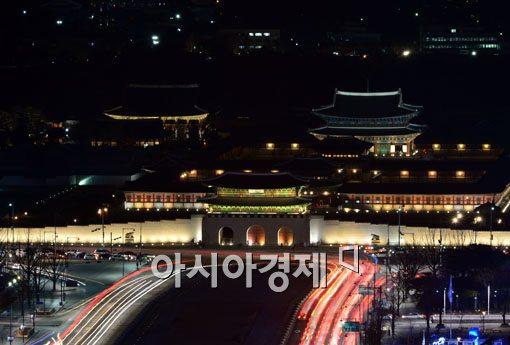 [포토]서울도심의 보물 경복궁
