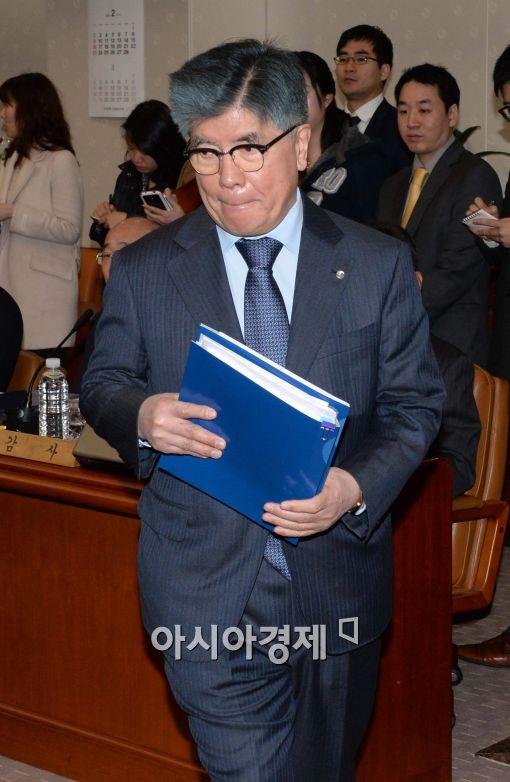 [포토]입장하는 김중수 한은 총재