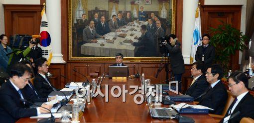 [포토]금융통화위원회 정례회의 개최