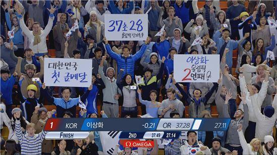 """""""이상화 선수 경기장면이 곧바로 광고에…어떻게 만들었지?"""""""