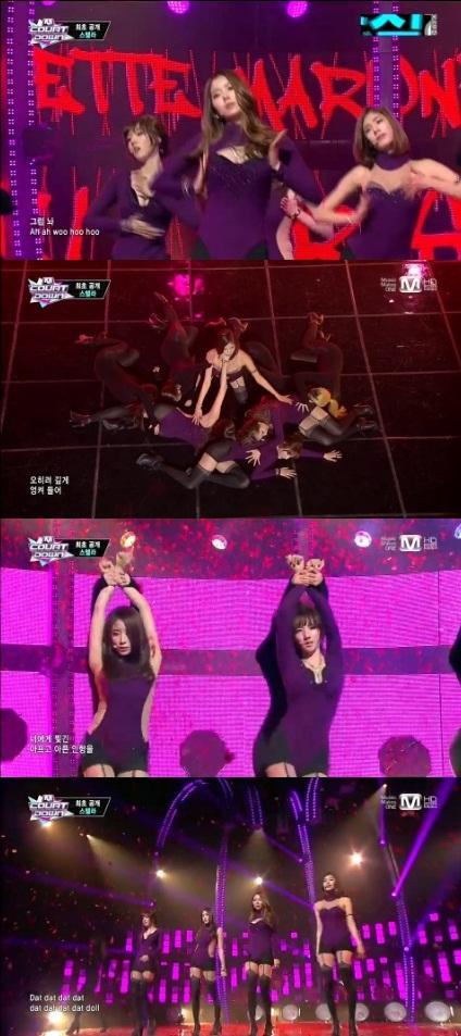 스텔라 '마리오네트'/ Mnet '엠카운트다운