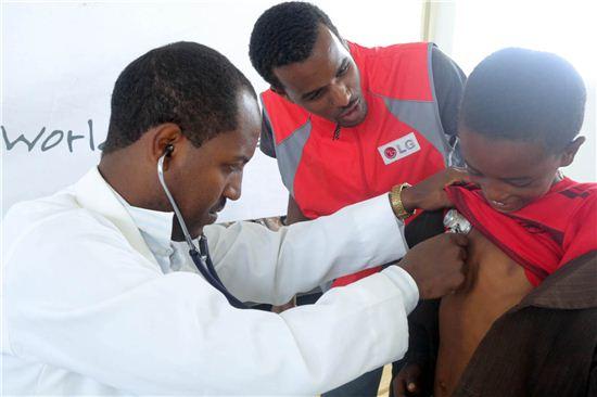 LG전자, 에티오피아서 건강 증진 캠페인 실시