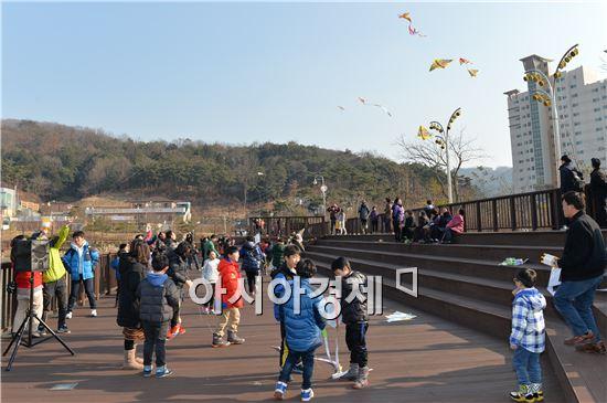 [포토]광주 남구 , 가족사랑 연날리기 대회 개최