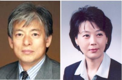 ▲염재호 고려대학교 부총장(사진 왼쪽)과 박순애 서울대학교 교수.