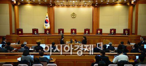 [포토]헌재, 통합진보당 정당해산 2차 변론 열려