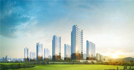 이지건설, 부산 정관신도시에 '이지더원' 426가구 분양