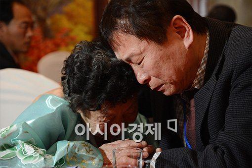 [포토]눈물의 작별상봉