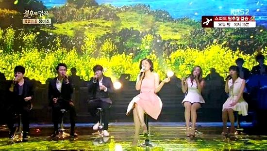 '불후2' 린, 아카펠라로 만든 '달콤한 봄 향기'