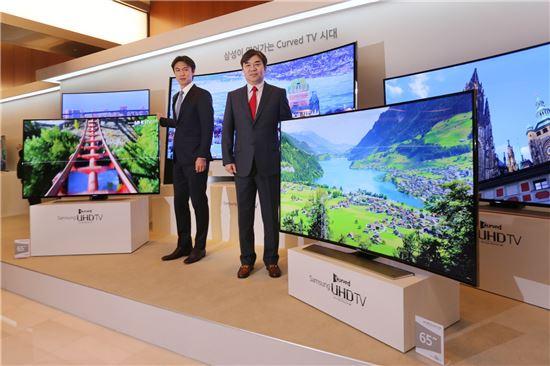 [기술열전]화면 휘어진 TV 출시…어떻길래?