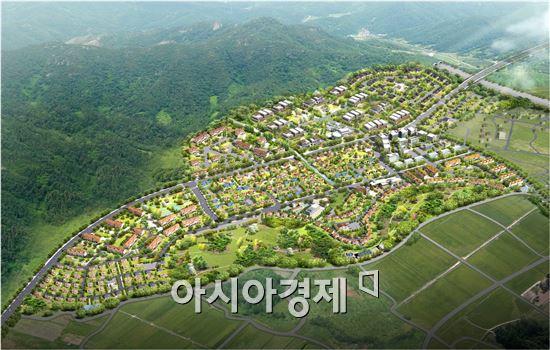 장성군, 덕성행복마을 조성 '본격화'