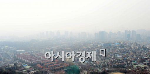 [포토]중국발 스모그, '심각하네~'