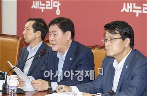 """최경환 """"새정치민주연합, 선거前 간판만 바꿔"""""""