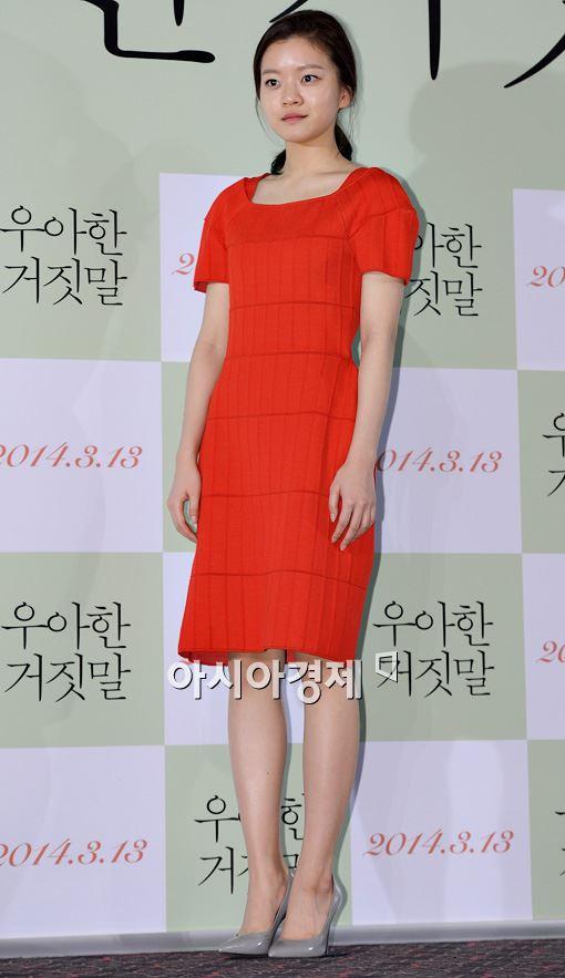 """'우아한 거짓말' 고아성 """"영화에서 '엄마' 만난 건 처음"""""""