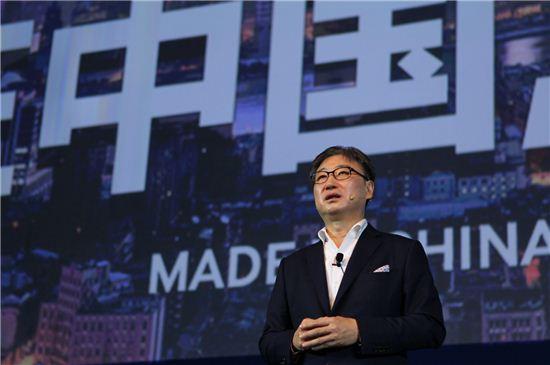 """[포토]삼성 """"커브드 UHD TV·갤럭시S5로 중국 공략"""""""