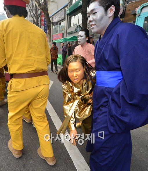 [포토]아무도 지켜주지 못한 위안부 소녀