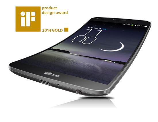 LG G 플렉스, iF디자인 어워드 금상…총 26개 제품 본상