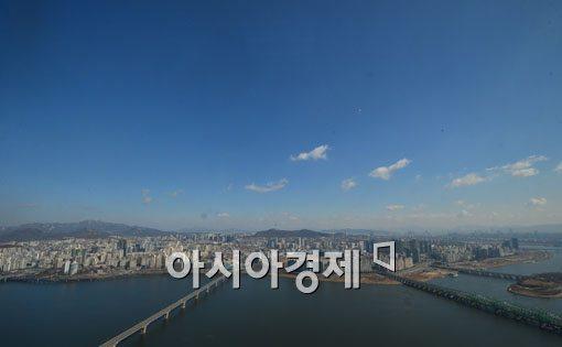 [포토]반갑다 파란 하늘