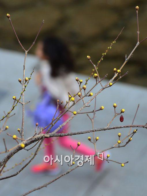 [포토]봄을 향해 뛰자