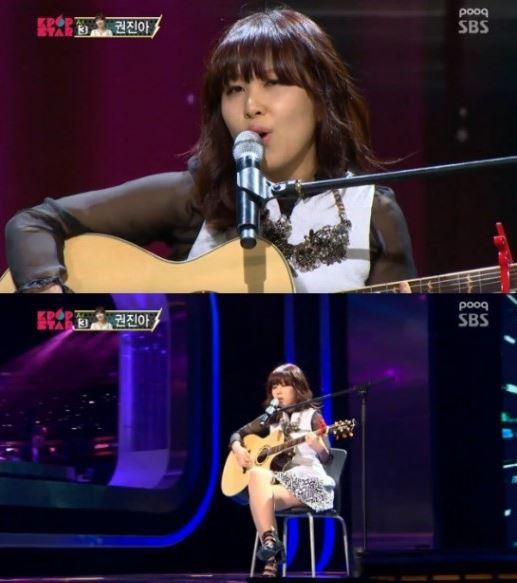 ▲K팝스타3 권진아 안테나 행. (출처: SBS 'K팝스타3 방송화면 캡처)