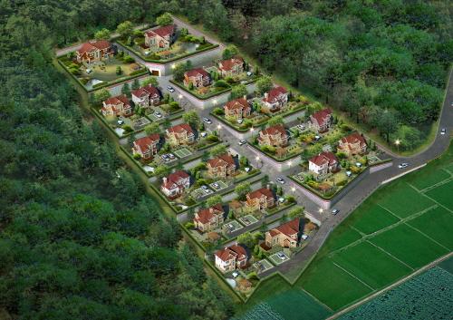 단지형 전원주택 '수노을 그린 팰리스' 최적의 거주 최고의 투자가치 높아 인기
