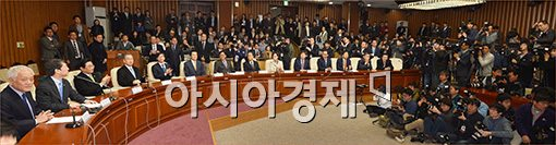 [포토]민주당·새정치연합 연석회의