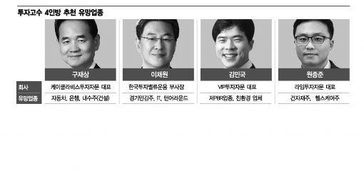 """투자고수 4인방 """"위기는 기회…변동성파도를 타라"""""""