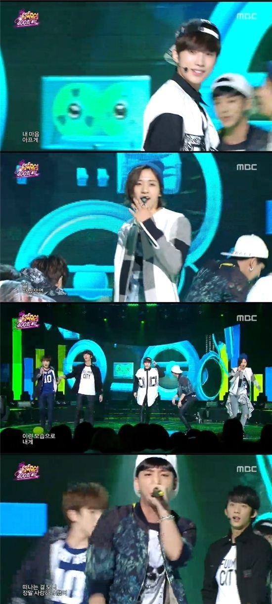 '음중' B1A4, 지오디 히트곡으로 토요일 '후끈'