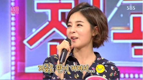 ▲김소정.(출처: SBS 예능프로그램 방송 캡처)
