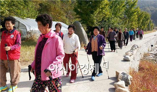 장성군, 주민 '걷기운동 붐' 이끈다