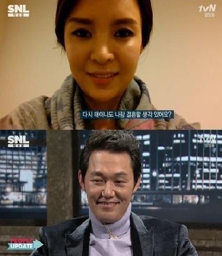 ▲박성웅·신은정 부부.(출처: tvN 예능프로그램 방송 캡처)