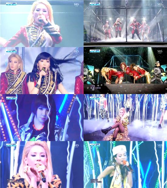 '인가' 2NE1, 화려한 퍼포먼스 '역시, 2NE1'