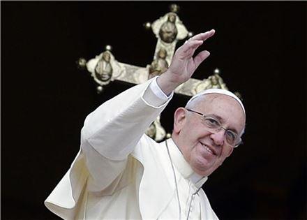 ▲프란치스코 교황.