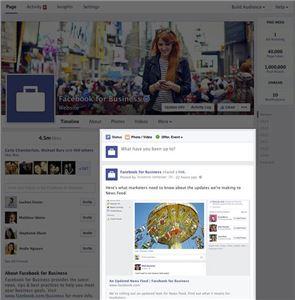 페이스북, 페이지 레이아웃 변경