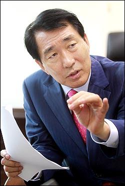 """안상수, 무소속 출마…""""4월13일, 이한구 심판하는 날"""""""