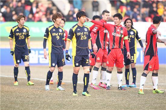 성남FC, 홈 개막전서 FC서울과 0-0 무승부